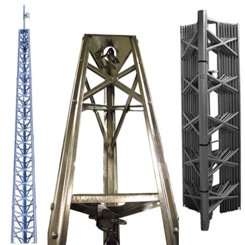 Original Image: Wade Antenna – 68 ft. Self Supporting Tower