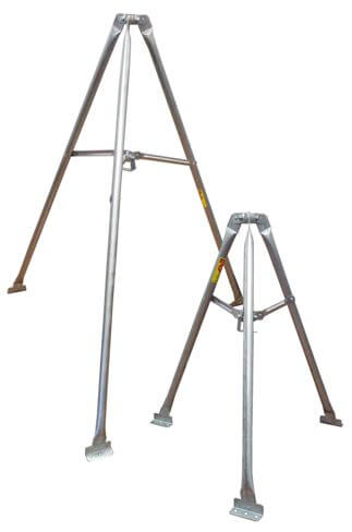 Original Image: ROHN TRT60 5-ft. Light Duty Tripod Mount Tower