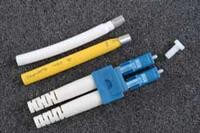 Original Image: Fiber LTE – Blue LC Singlemode Duplex Connector for 1.6-2.0mm Jacketed Cable