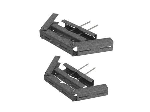 Original Image: CommScope – Universal RRU Mount Kit for Straight or Tapered legs