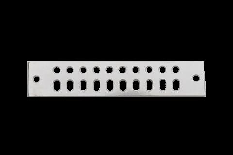 Original Image: AC-LINE – 2″ x 10″ Universal Buss Bars (Tinned)