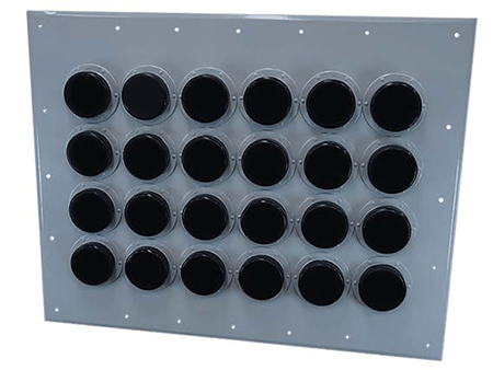 Original Image: 65-ACE1448 – 4″ Entry Panel, 2 Port, 1×2 – AC-LINE