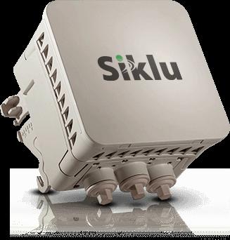 Original Image: Siklu EtherHaul-710TX 70GHz, 700Mbps E-Band TDD PoE ODU w/ Integrated Antenna