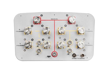 Original Image: CommScope RV4PX306R 10-Port Sector Antenna, 2x 698–960 & 8x 1710–2690 MHz