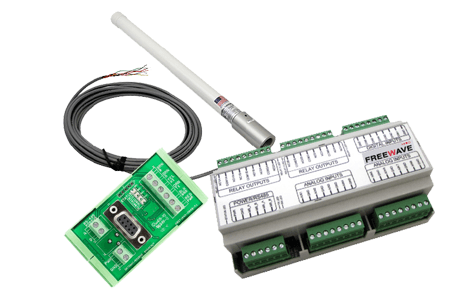 Original Image: FreeWave WC40i Remote Shut Down Module, 2 Digital  Inputs, 2 Relays, 5-36V, DIN Rail Mount