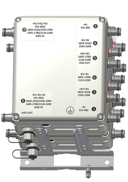Original Image: Kaelus Dual Twin TMA 1900/AWS/Lowpass 555-960 MHZ 6 ANT