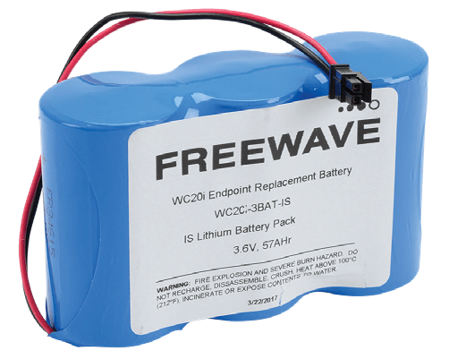 Original Image: FreeWave WC-BAT-3D-IS Replacement battery for WC20i Modular Endpoints