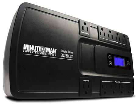 Original Image: Minuteman Enspire®, 350-900VA Standby, Wall-Mountable UPS