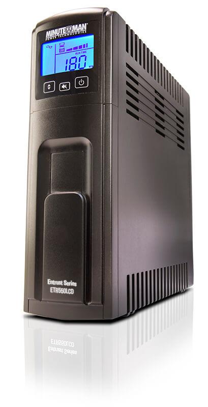 Original Image: Minuteman Entrust LCD® 550-1500VA Line Interactive Ultra-Compact AVR UPS