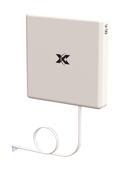 Original Image: Nextivity Cel-Fi Wideband Panel Antenna, White 2m Cable – LTE (N Female)